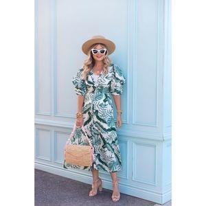 Johanna Ortiz x H&M Linen Blend Dress